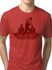 Bulls - Three-Peat Tri-blend T-Shirt