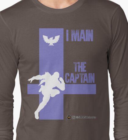 The Captain (White) Long Sleeve T-Shirt