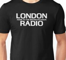 British Invasion - London Radio (White) Unisex T-Shirt