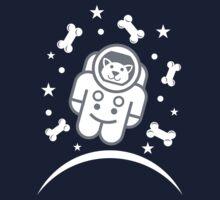 Dog in Space Astronaur Traveler Doggie Kids Tee
