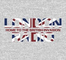 British Invasion - London Radio (Flag) by kassette