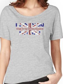 British Invasion - London Radio (Flag) Women's Relaxed Fit T-Shirt