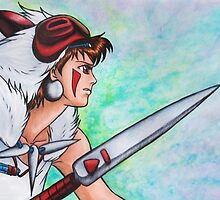 Princess Mononoke by Kimberly Castello