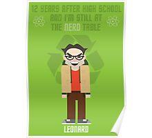 Leonard - Big Bang Theory Poster