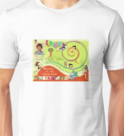 Home Page - another version Unisex T-Shirt