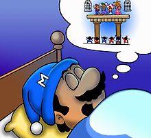 Dreaming Mario by likelikes