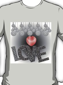 Love in Grayscale T-Shirt