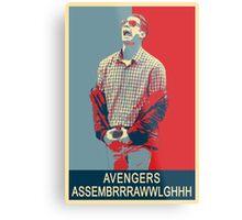 Avengers assembrrrrrawwwwwlghhh Metal Print