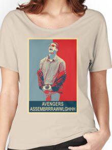 Avengers assembrrrrrawwwwwlghhh Women's Relaxed Fit T-Shirt