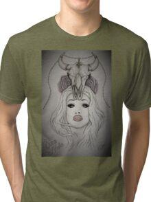 Sharon Needles Drawing Tri-blend T-Shirt