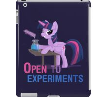 Open to experiments iPad Case/Skin