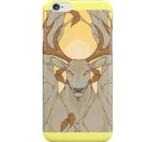 stag in nature iPhone Case/Skin