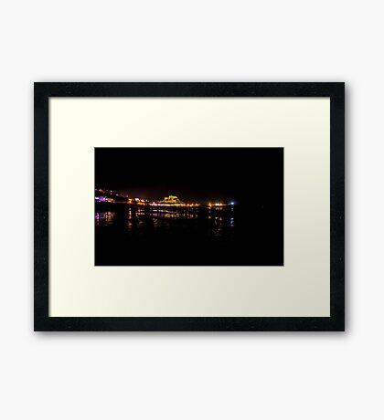Gorey at night Framed Print