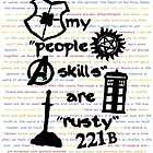 "My ""People Skills"" are ""Rusty"" by myimagination7"