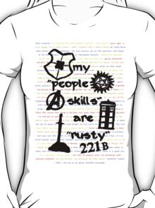 "My ""People Skills"" are ""Rusty"" T-Shirt"