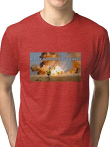 Nick 'Honey Badger' Cummins Tri-blend T-Shirt