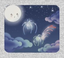 Cute Sky 1- Fireworks One Piece - Short Sleeve