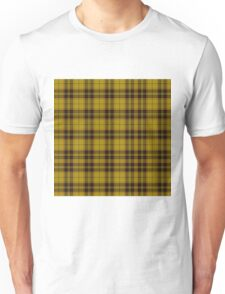TARTAN-YELLOW  Unisex T-Shirt