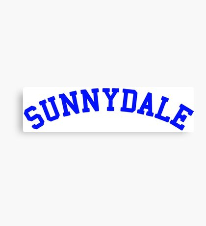 buffy sunnydale Canvas Print