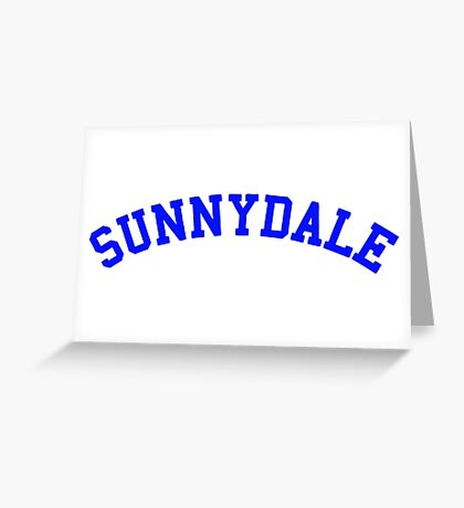 buffy sunnydale Greeting Card