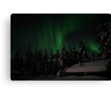 Northern Lights Part 2 Canvas Print