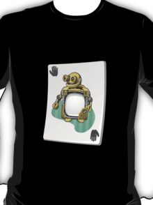 Glitch miscellaneousness upgrade card craftybot lesson T-Shirt