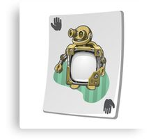 Glitch miscellaneousness upgrade card craftybot lesson Canvas Print