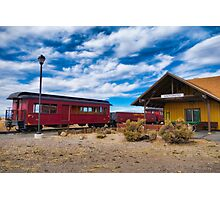 Antonito Train Station Photographic Print
