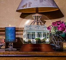 Longfellow House Snow Globe by Barry  Jones