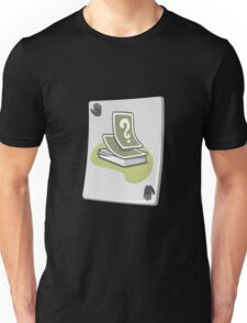 Glitch miscellaneousness upgrade card reshuffle Unisex T-Shirt