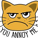 You Annoy Me by DetourShirts