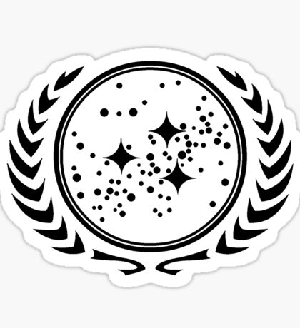 The United Federation of Planets Sticker
