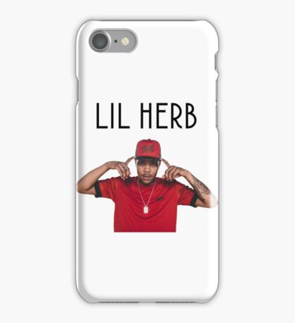 Lil herb tshirt iPhone Case/Skin