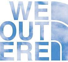 We Out Here (sky) by Saack City LLC