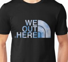 We Out Here (sky) Unisex T-Shirt