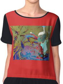 Singing in the snow Chiffon Top