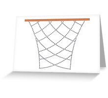 Diamond Hoops Greeting Card