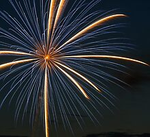 Big Blast - Fireworks Explosion by Kenneth Keifer