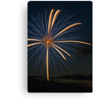 Big Blast - Fireworks Explosion Canvas Print
