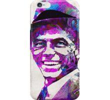Frank Sinatra Art - Pink Sinatra - By Sharon Cummings iPhone Case/Skin