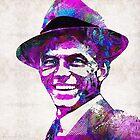 Frank Sinatra Art - Pink Sinatra - By Sharon Cummings by Sharon Cummings