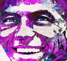Frank Sinatra Art - Pink Sinatra - By Sharon Cummings Sticker