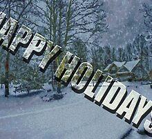 Happy Holidays by Barry  Jones