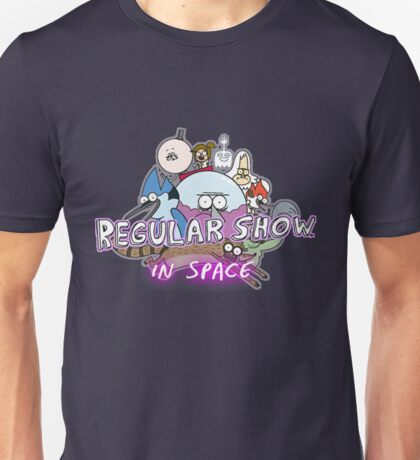 Regular Show In Space Unisex T-Shirt