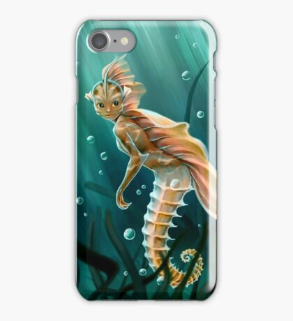 Creature underwater iPhone Case/Skin
