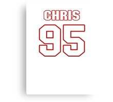 NFL Player Chris Neild ninetyfive 95 Canvas Print