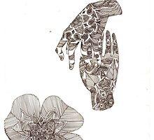 henna hands by pasteluna