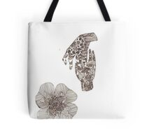 henna hands Tote Bag