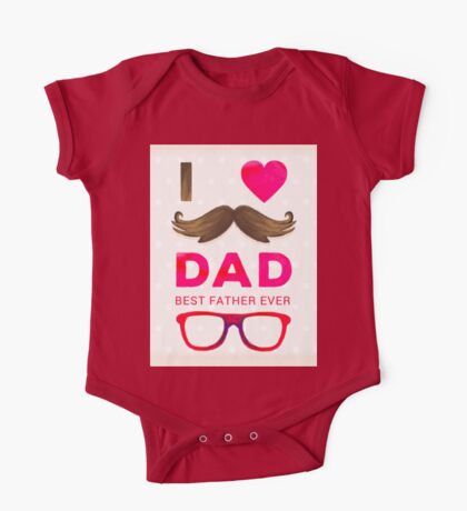 Best Father Ever One Piece - Short Sleeve
