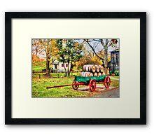Bourbon Framed Print